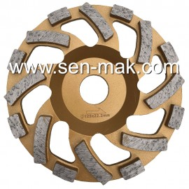Diamond Cup Wheel Concrete