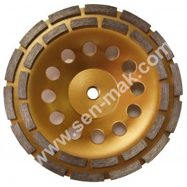 Diamond Cup Whell Diameter 180 mm Connetion M14 Diamond Cup Whell Diameter 180 Mm Connetion M14