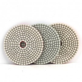 "4"" 100mm 3 Step Polishing Diamond Pad"
