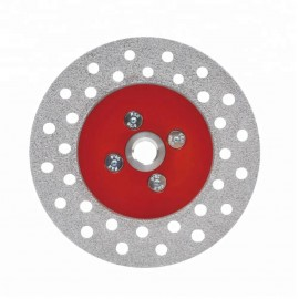 Diamond Brazed Cutting And Grinding Wheel